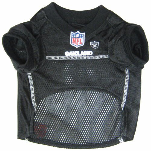 11141329b Pets First NFL Oakland Raiders Jersey Apparel for Pets