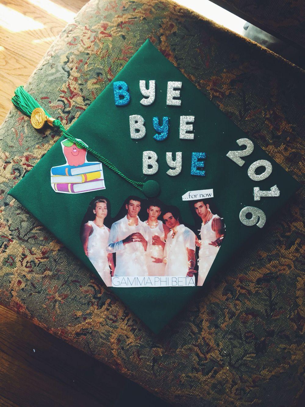 Nsync Grad Cap Funny Grad Cap Ideas Graduation Cap