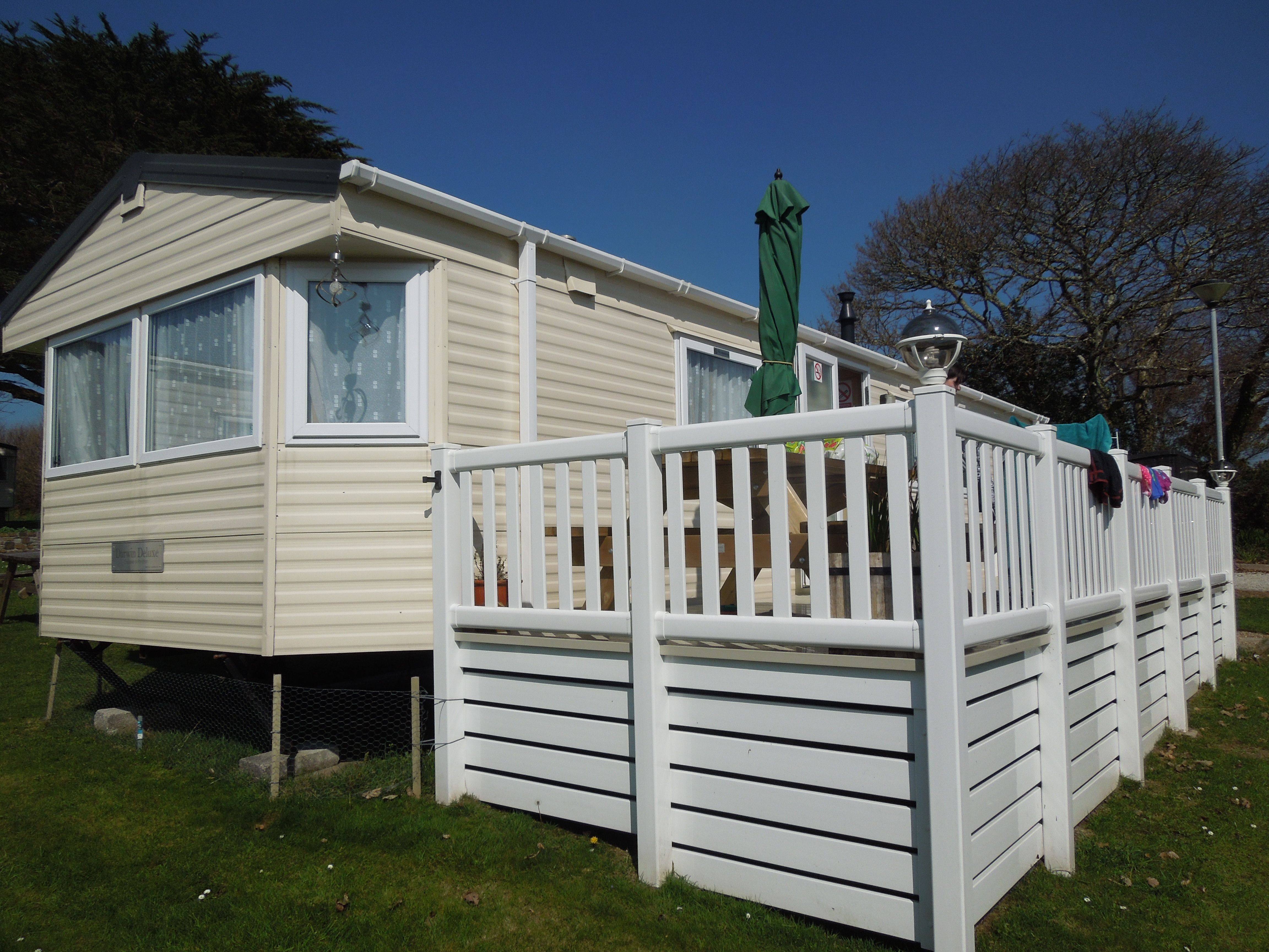 Hilltop 148 One Of Our 2 Caravans On Looe Bay Holiday Park