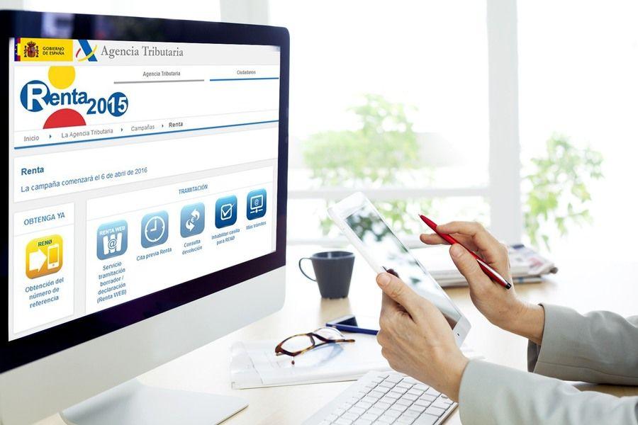 Renta web: servicio que sustituye al clásico programa PADRE - www.domesticatueconomia.es - de Cetelem