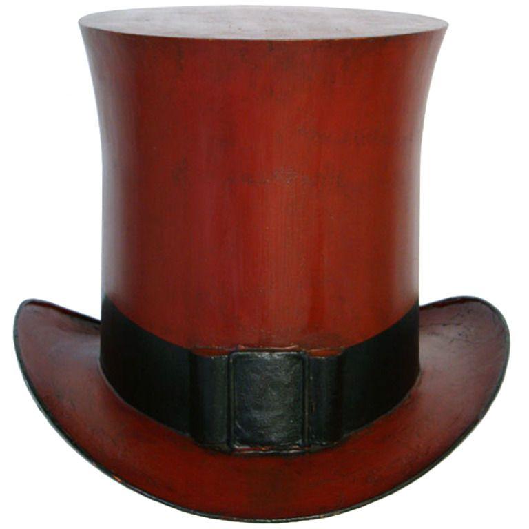 Top Hat Tole Shop Sign 1stdibs Com Shop Signs Top Hat Tole