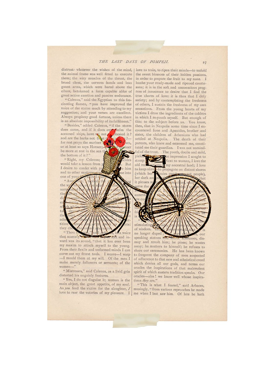 bike on book page