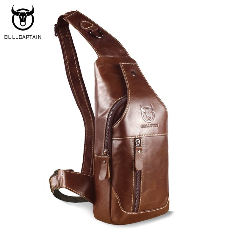 BULL CAPTAIN 2017 Fashion Genuine Leather Crossbody Bags men ...