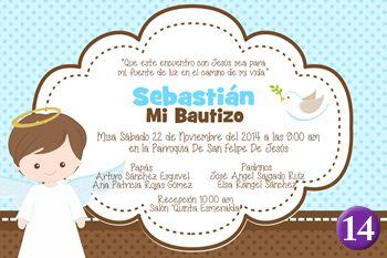 invitaciones de bautizo invitaciones bautizo nioinvitacion para