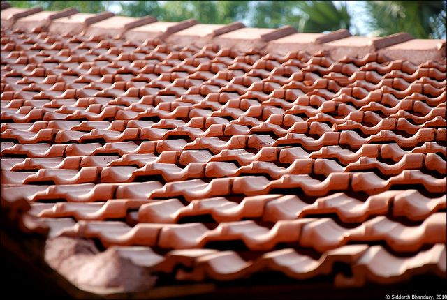 Mangalore Tile Roof Roof House Roof Roof Tiles