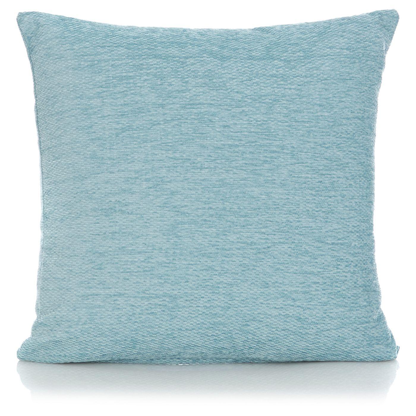 George Home Duck Egg Chenille Cushion   Cushion Offers   ASDA direct ...