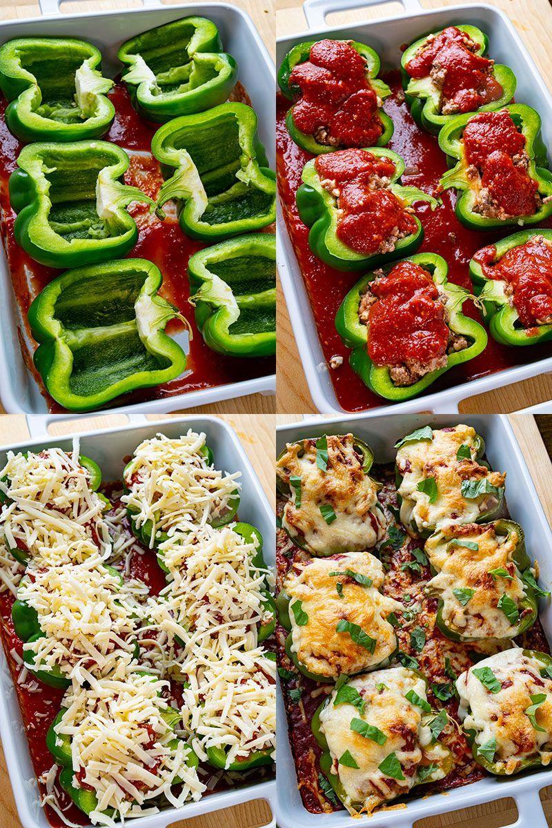 Lasagna Stuffed Peppers Recipe In 2020 Stuffed Peppers Lasagna Stuffed Peppers Beef Recipes