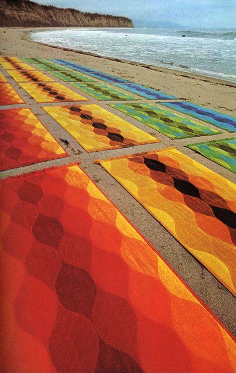 pattern towels 1972