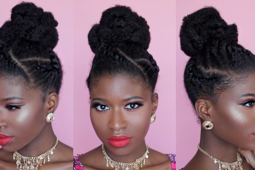 Wedding Guests Are Blazing The Trends See This Season S Gorgeous Styles Wedding Digest Naija Natural Hair Styles Natural Hair Updo Natural Hair Styles Easy