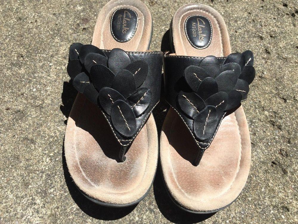 66e11bd75a9 Clarks Sandals Size 8 1 2  Clarks  FlatSandals