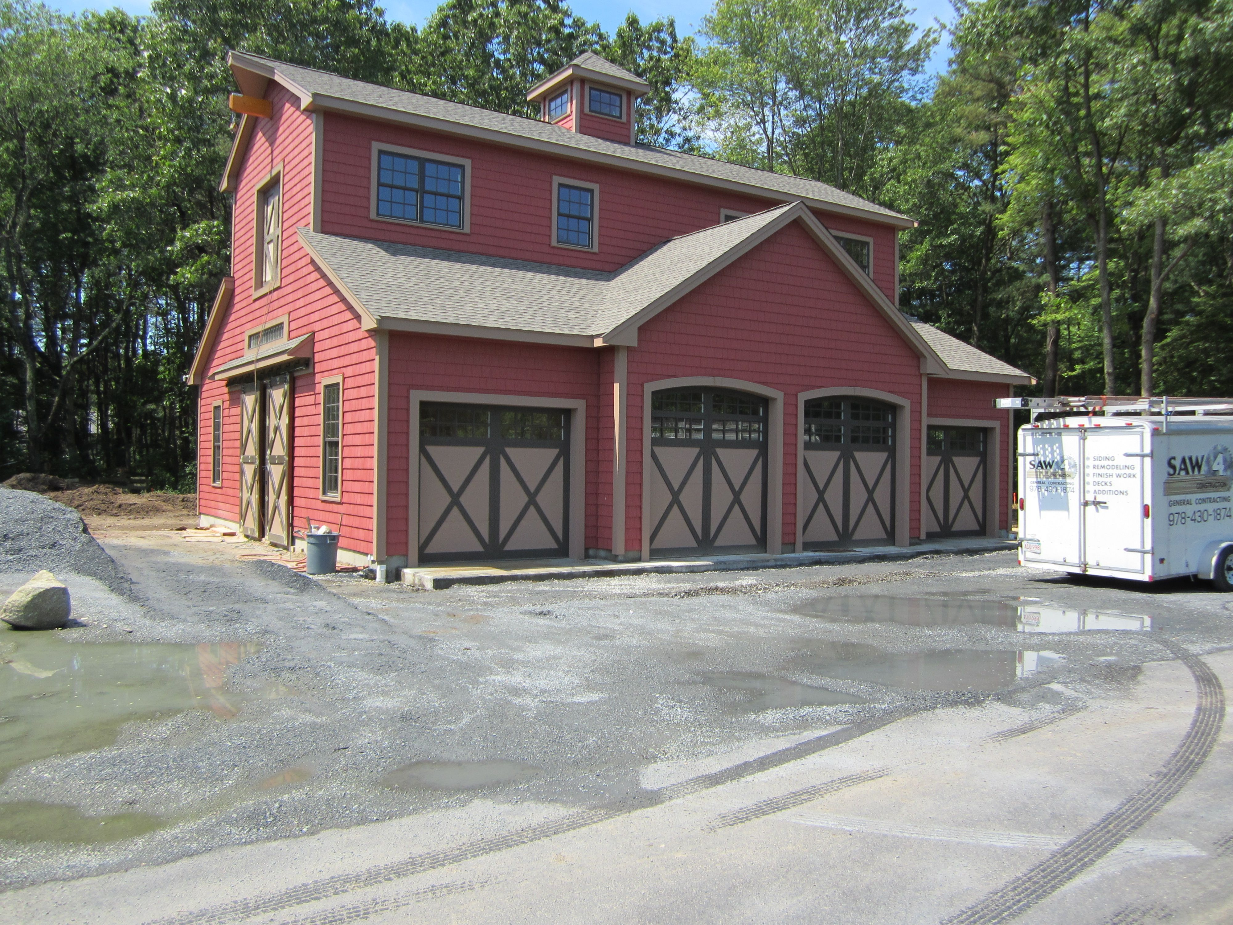 Chiohd Steel Carriage House Style Garage Doors Model