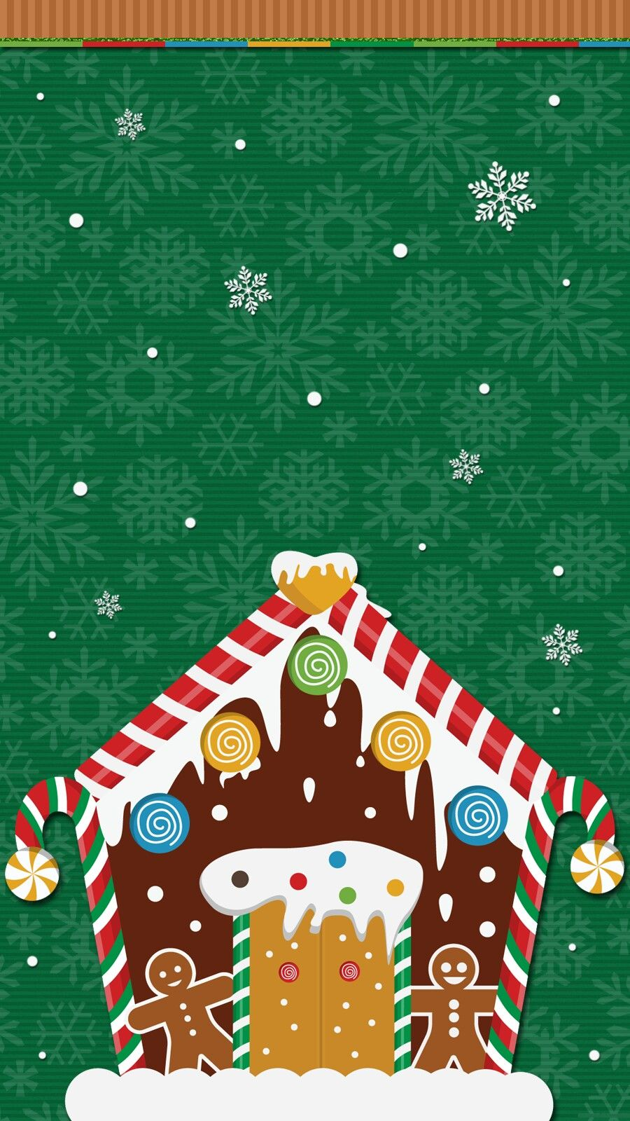 Cute Gingerbread Wallpaper Iphone Android Christmas Christmas Phone Wallpaper Christmas Screen Savers Holiday Wallpaper