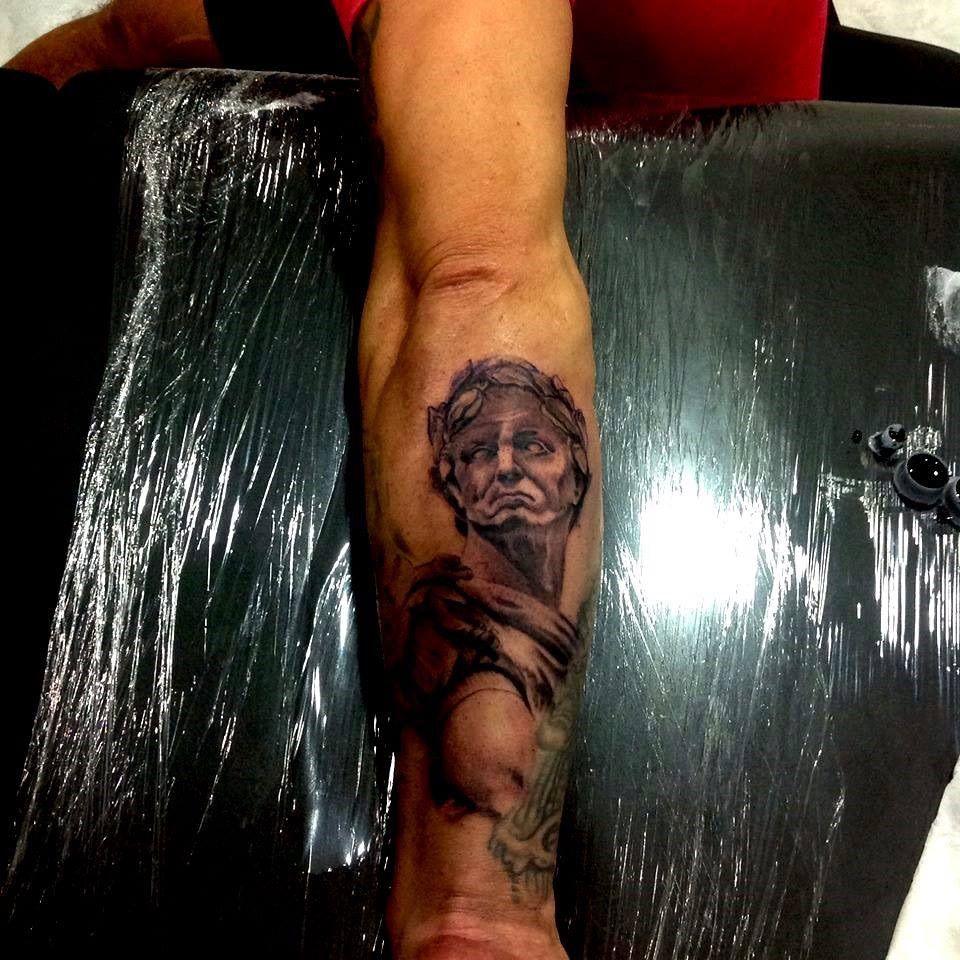 #Julius #caesar  #calacatattoo #tattoo