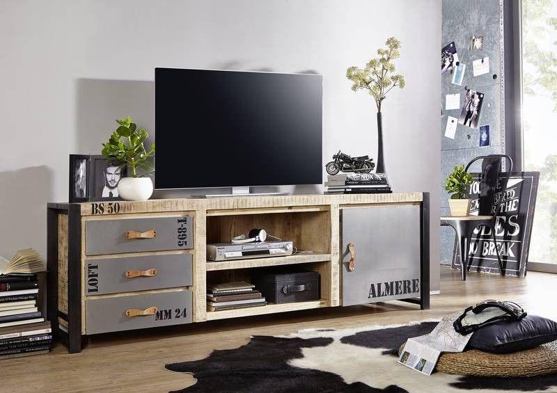 TV-Board Mango 200x45x66 mehrfarbig bedruckt FACTORY #133 Jetzt