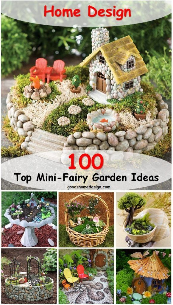 Take Your Pick! The Top 100 Miniature Fairy Garden Design Ideas is part of garden Kids Design - Looks like fairy gardens are a real trend nowadays, as they are adorable little worlds that you can place or create in your garden  If you're a fan of fairies and enchanted creatures, you have to s…