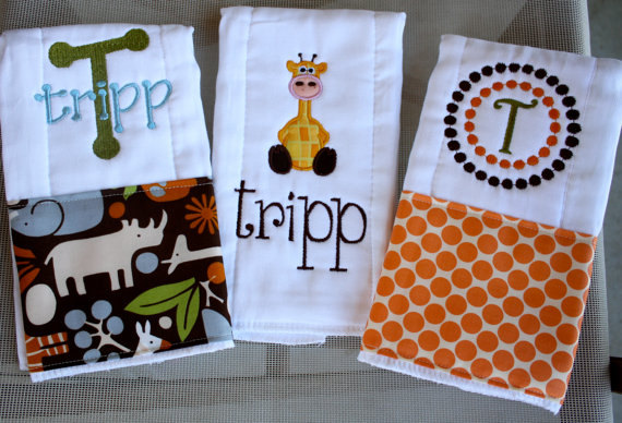 Personalized baby boy burp cloths safari by rubyjeandesigns 2550 personalized baby boy burp cloths safari by rubyjeandesigns 2550 love love negle Gallery