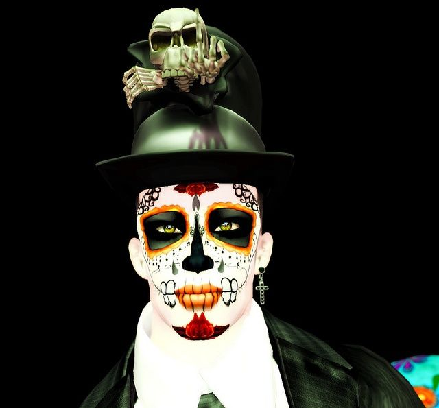 day of the dead costumes men pictures | Male day of the ...