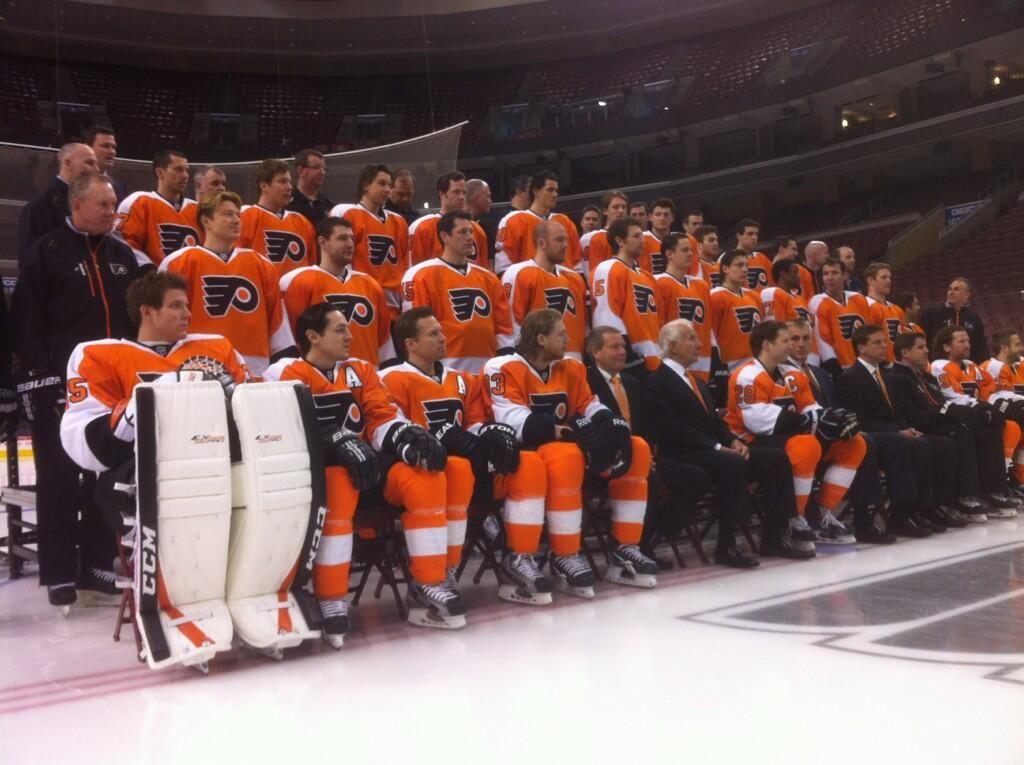Philadelphia Flyers (NHLFlyers) on Twitter.......team pic