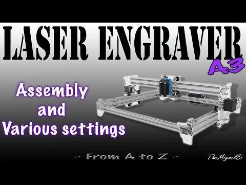 12 ⚛️☢️ Videotutorial Laser Engraver 2 5w A3