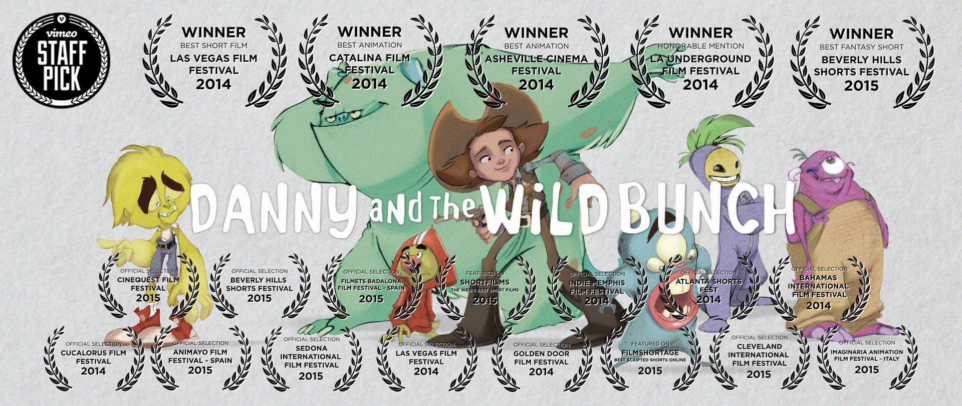 """Danny and the Wild Bunch (04:30) Directed by Robert Rugan A children's book author is told that her new manuscript needs to be """"darker"""", but when her revisions piss off the characters in the book, they come back to make some changes of their own"""