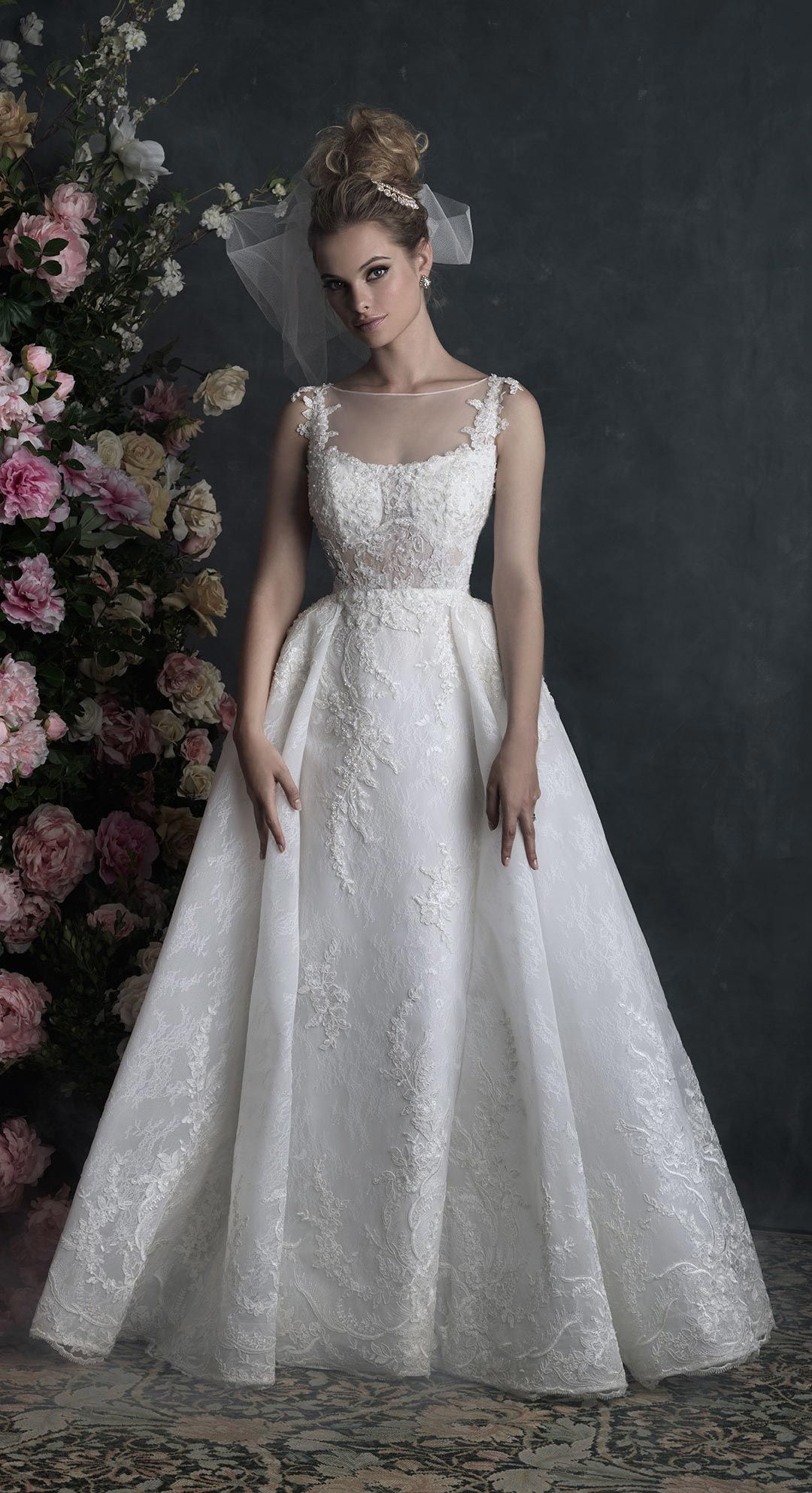 Stunning allure couture c by allurebridals opaque and