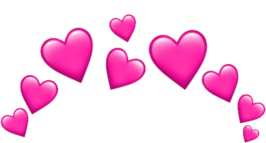 Emojis Whatsapp Heart Hearts Rosa Pink Stiker Merah