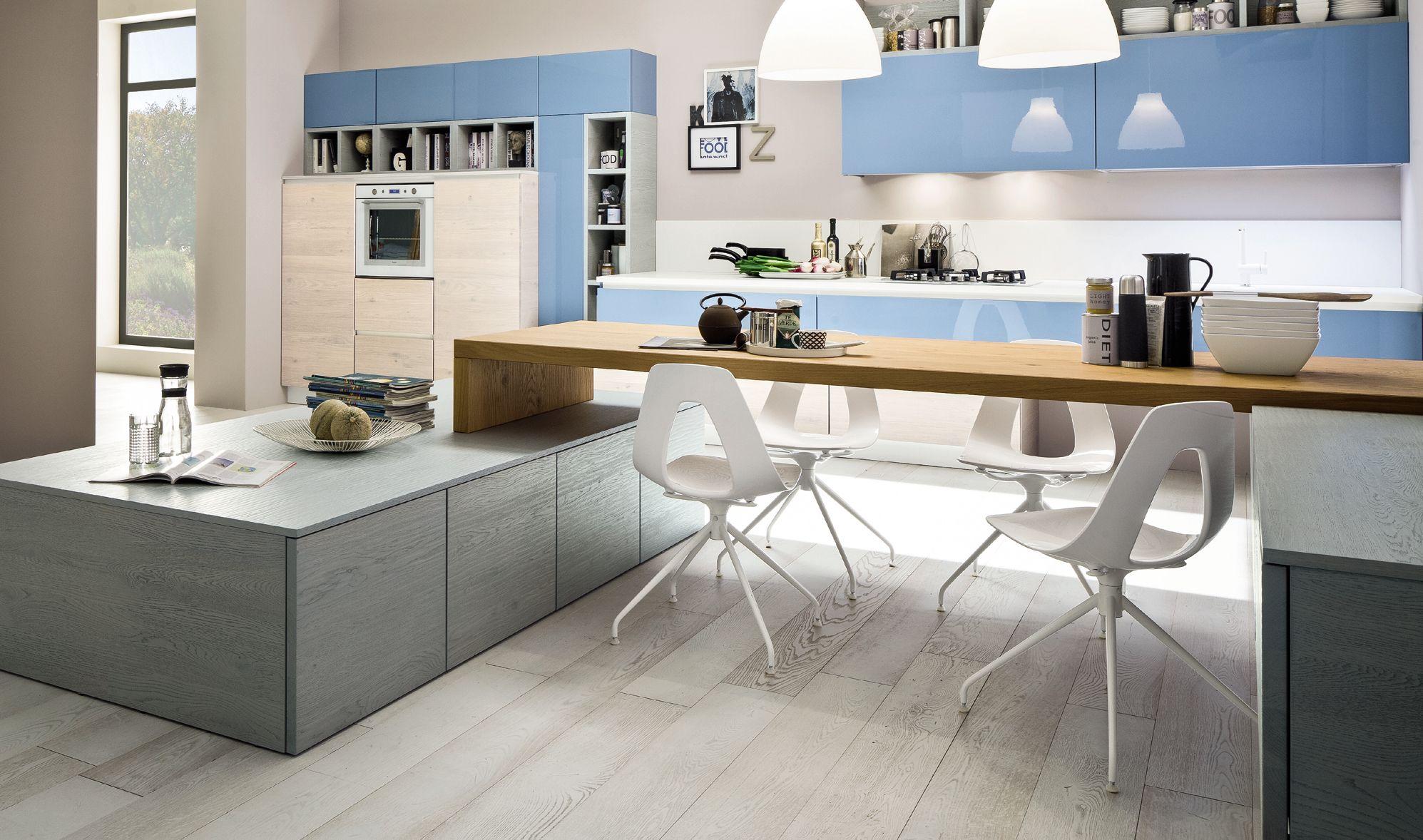 Che bello fare colazione o un break in una cucina Arrex. www.arrex ...