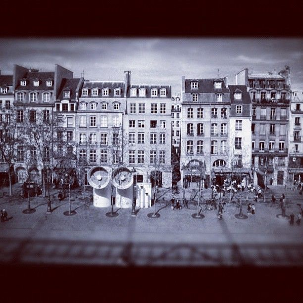 Photo from the Instacanvas gallery for ilaria_agostini. Paris, in front of Centre Pompidou