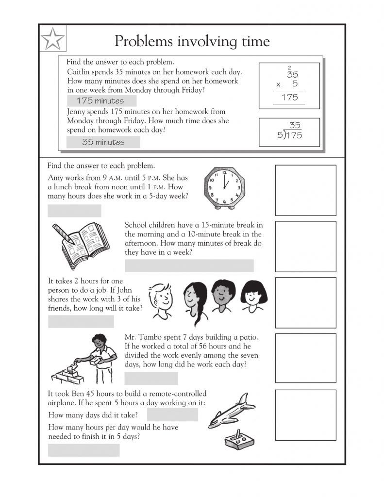 3rd Grade Math Word Problems - Best Coloring Pages For Kids   Math word  problems [ 1024 x 791 Pixel ]