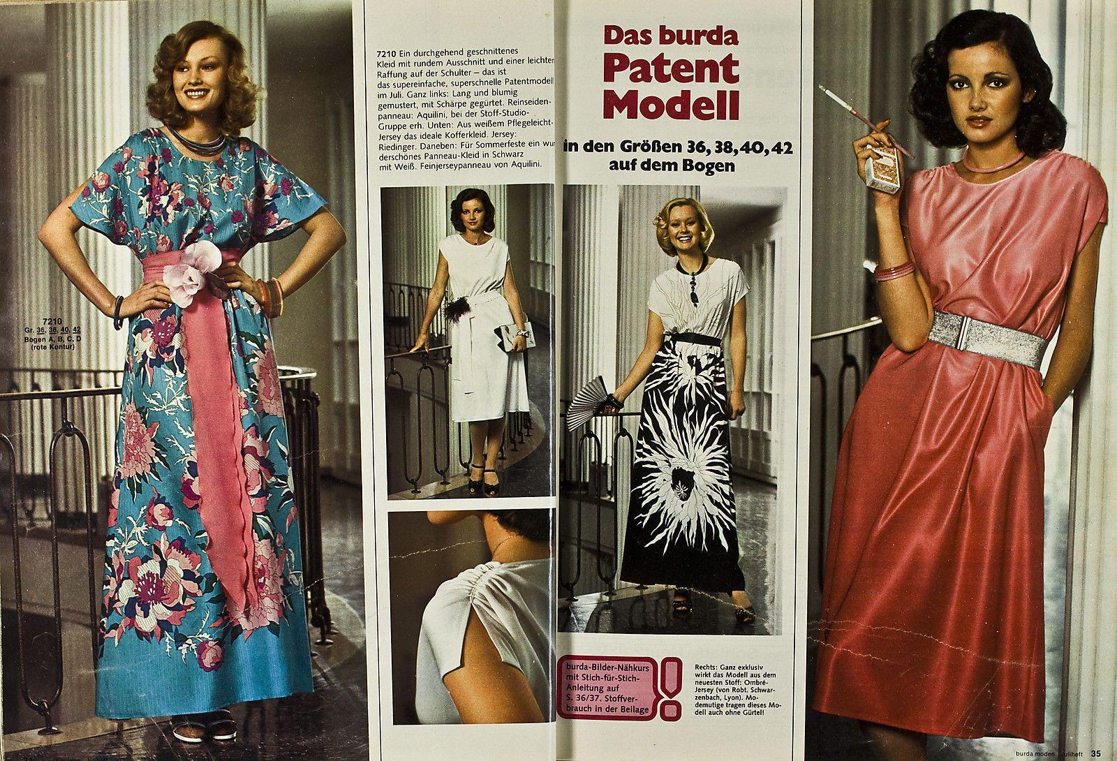 Burda Moden 07.1975 in Libros, revistas y cómics, Revistas, Moda y estilo de vida | eBay