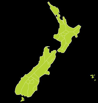 New Zealand Regions Map.New Zealand Regional Map Wanderlust Camping New Zealand New