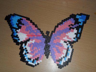 Papillon hama beads by creation-nath