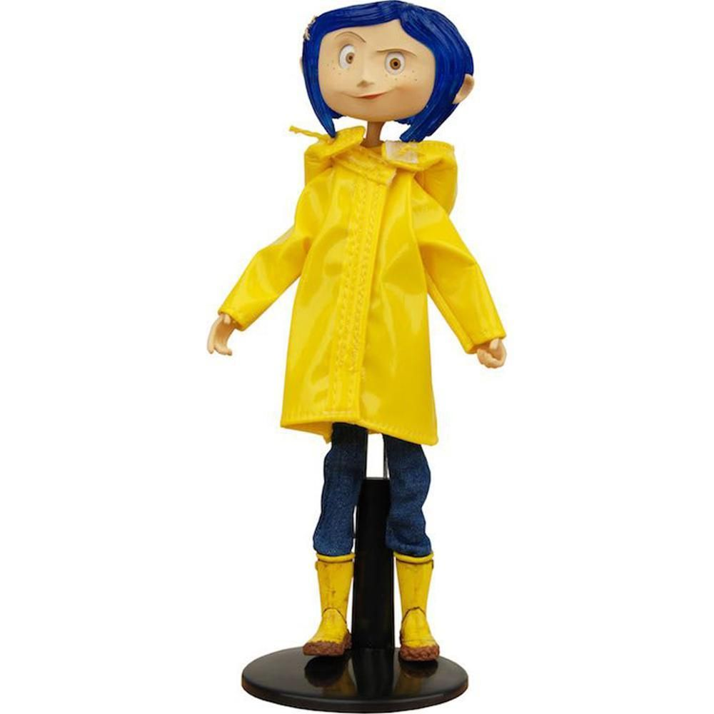 Coraline Fashion Doll In Raincoat And Boots Coraline Doll Coraline Raincoat Outfit