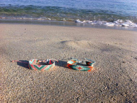 Bracelet en perles miyuki motif Eléa by Lapetitemarseillaise