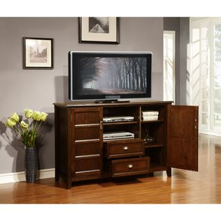 Simpli Home Kitchener Collection 53 Inches Wide X 35 Inches High Tall Tv Stand Http Rustic Touch Com Simpli Home Kitchener Simpli Home Tall Tv Stands Home