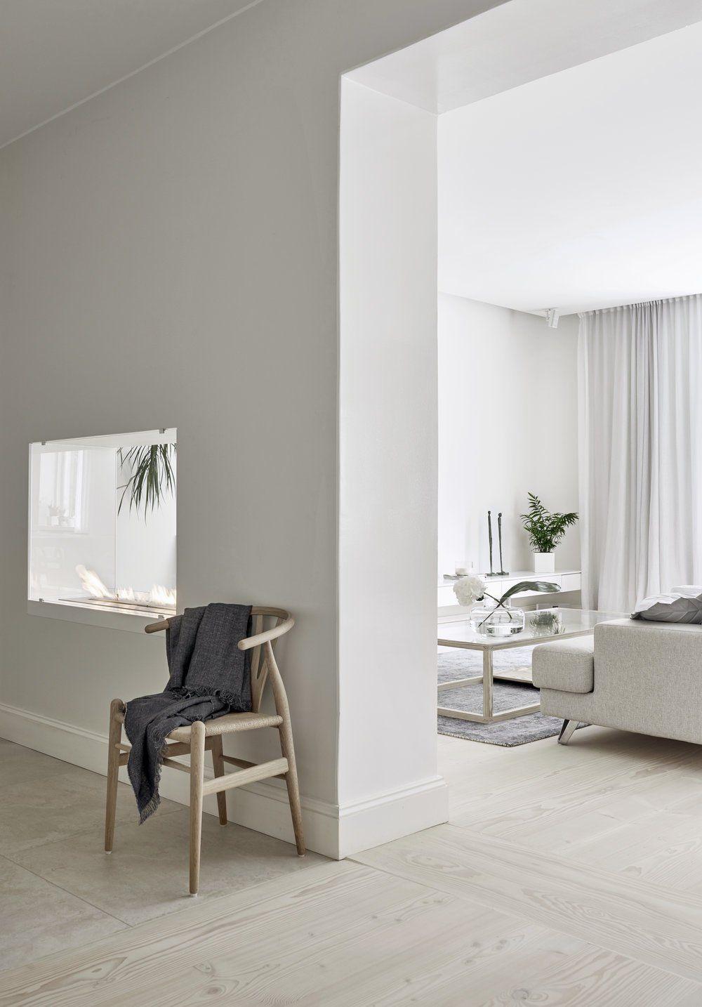 A bright white Finnish Home - via Coco Lapine Design blog | House ...
