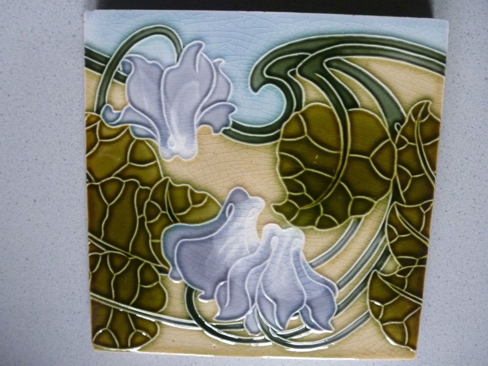 Art Deco Tegels : Jugendstil fliese kachel art nouveau tile tegel carreau poulet art