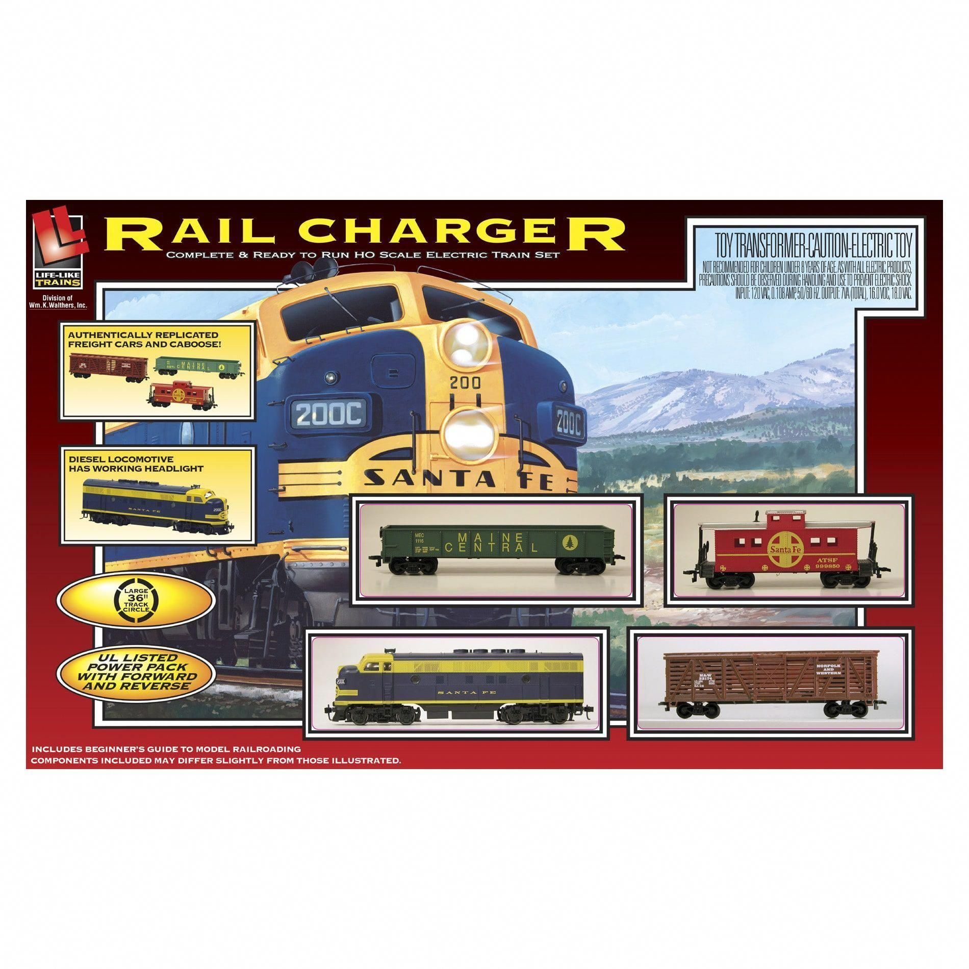 Rail Charger Electric Train Set electrictrainsets Ho
