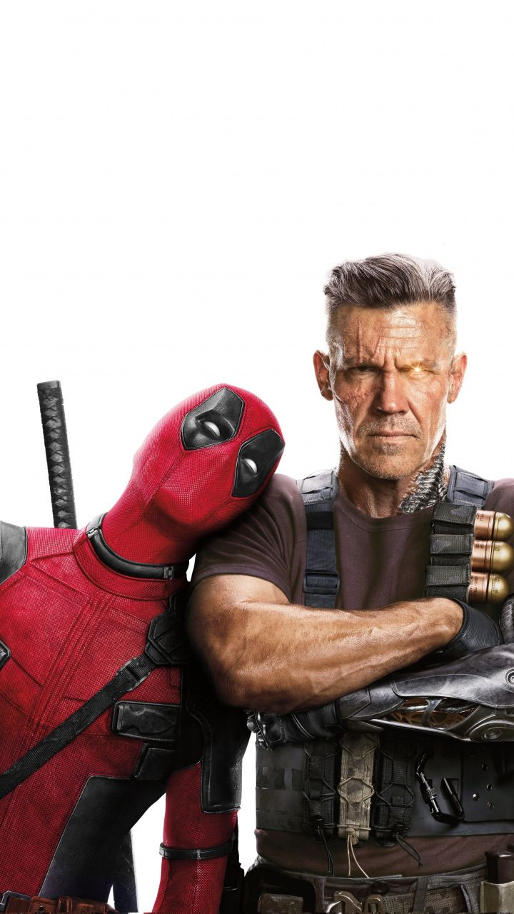 Deadpool 2 Deadpool And Cable Movie 2018 720x1280 Wallpaper
