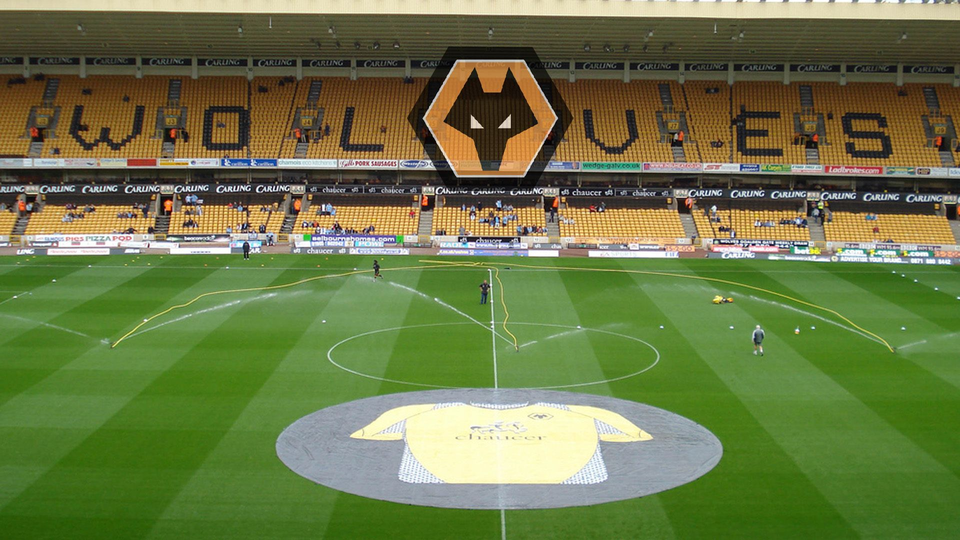 The Molineux Stadium In All It's Glory.