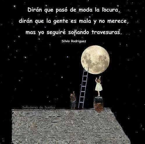 Silvio Rodriguez Moon Illustration Luna Moon Love Moon