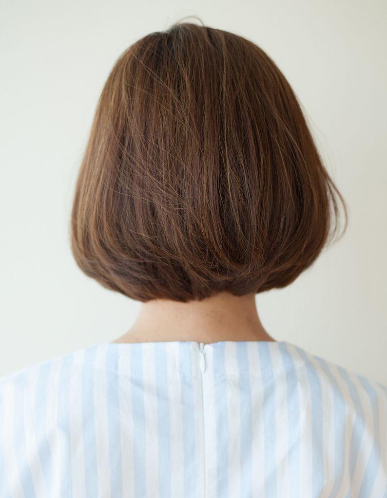 スタイリッシュなワンカールボブ Ny 14 ヘアカタログ 髪型 ヘア