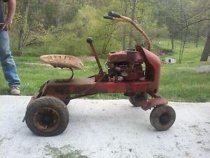 Antique Wizard Riding Mower 357a Vintage Lawn Tractor