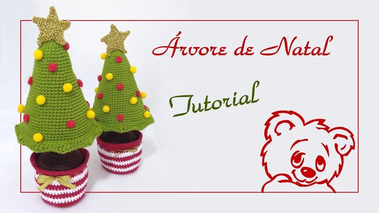 ÁRVORE DE NATAL AMIGURUMI | Dulce Navidad | Pinterest | Natal y ...