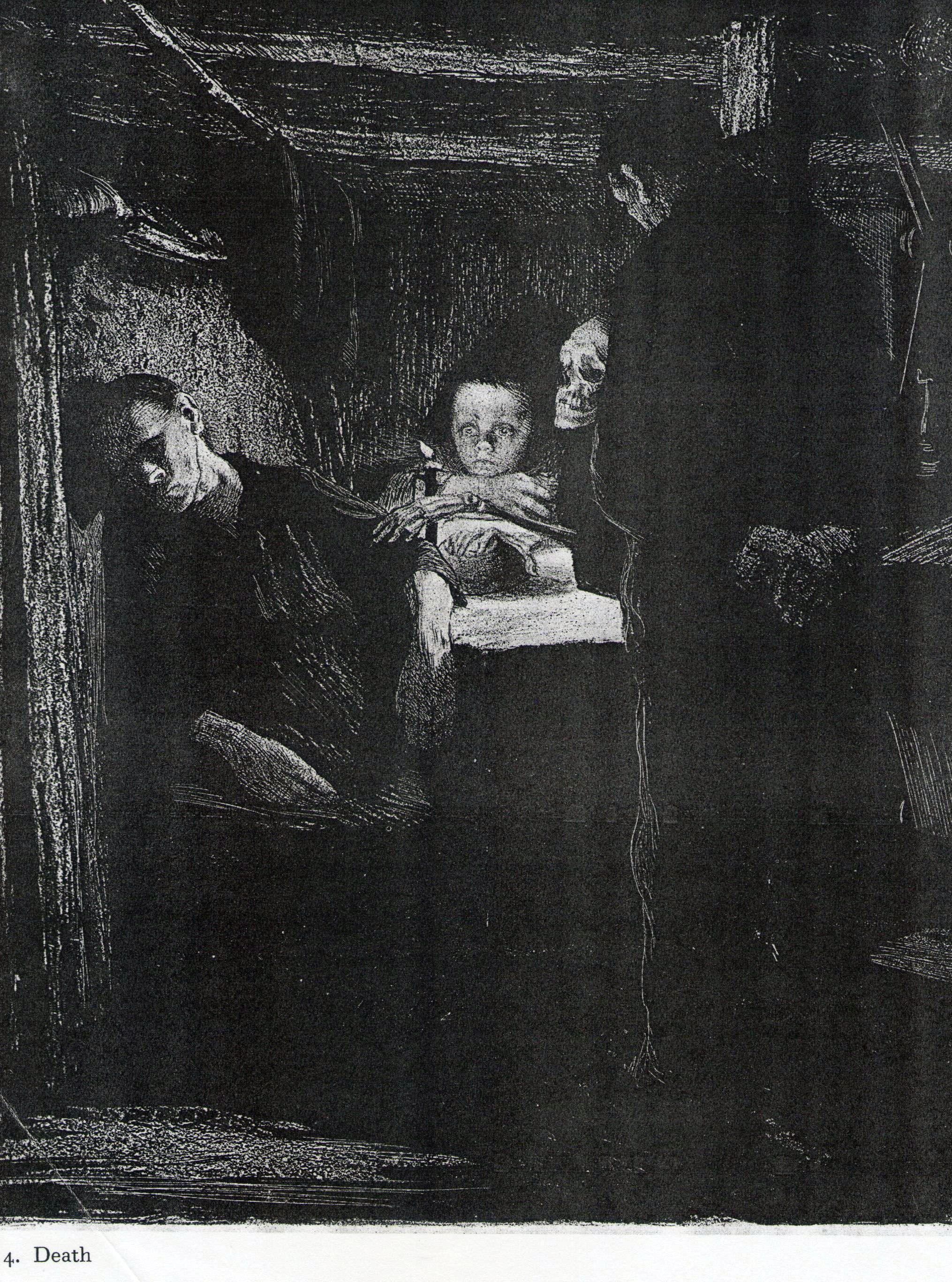 Kathe Kollwitz - Death