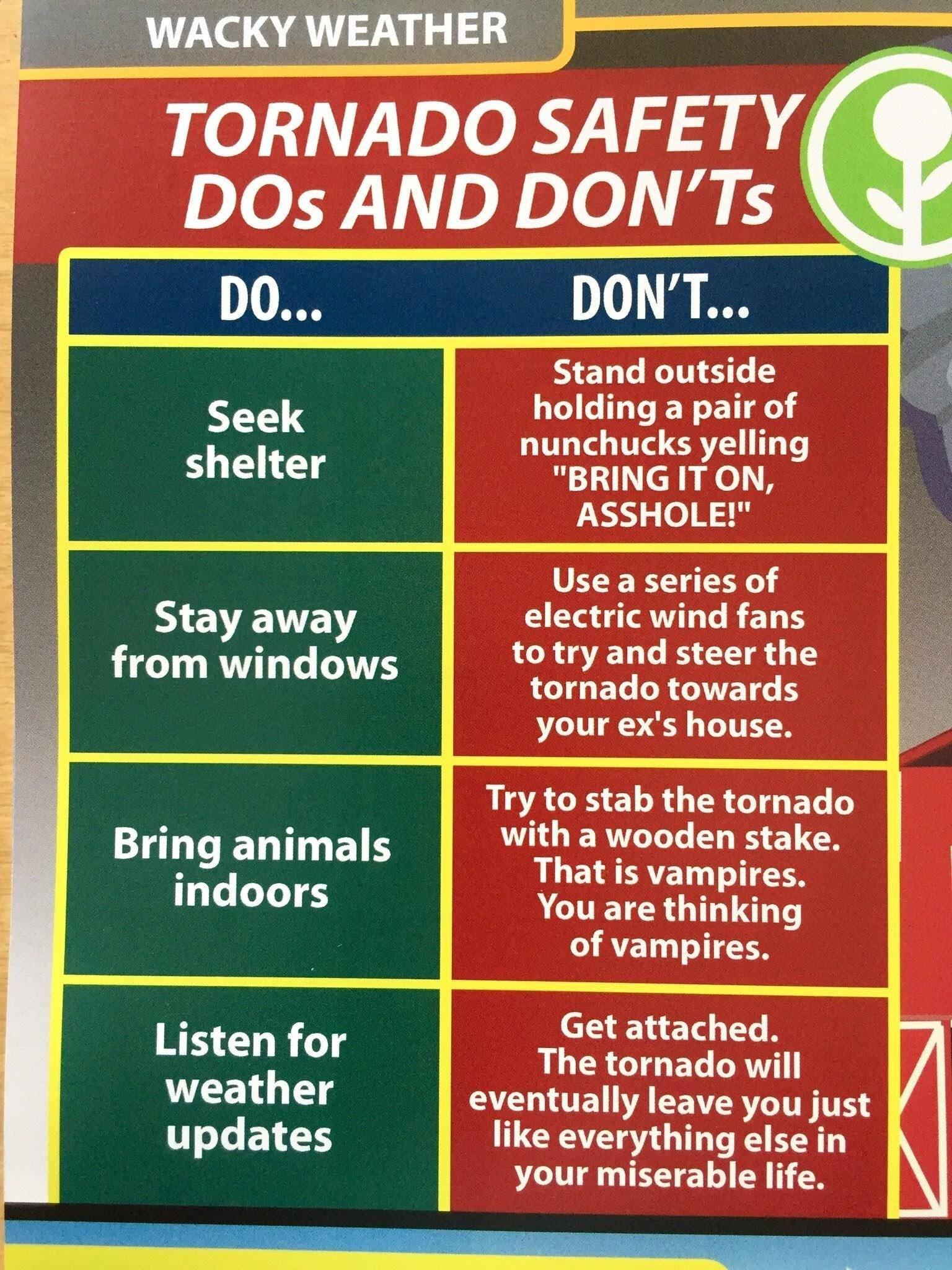 Public Service Announcement Weather Memes Aussie Memes Tornado