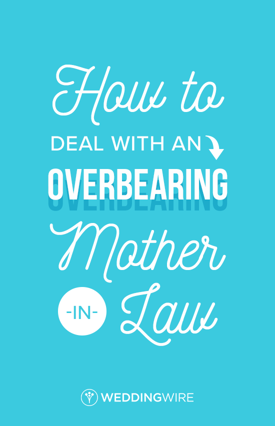 Dealing With An Overbearing Materfamilias In Law