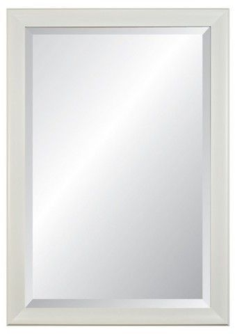 21 X 27 Concept White 3 0 Wide Framed Beveled Glass Wall Mirror Alpine Art Mirror Framed Mirror Wall Mirror Wall Beveled Glass