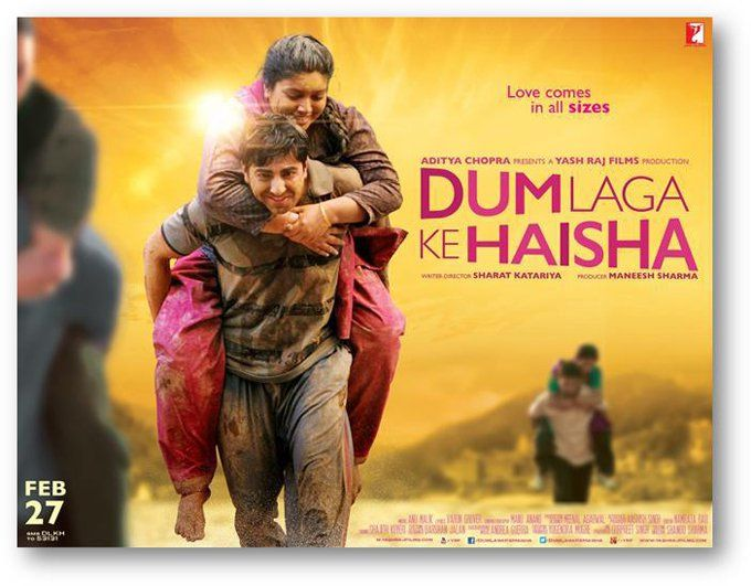 Image result for dum laga ke haisha poster