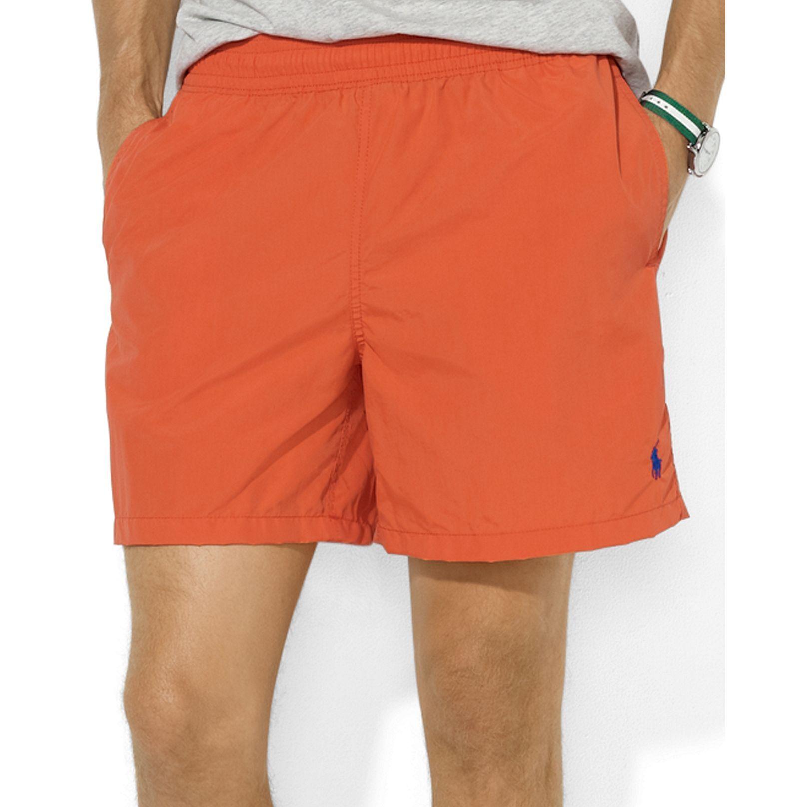 921fc468 Polo Ralph Lauren Swimwear, Hawaiian Swim Boxers - Mens Swim ...